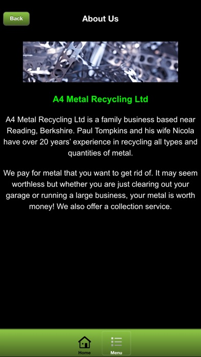 A4 Metal Recycling screenshot three