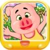 三只小猪种蔬菜 早教 儿童游戏