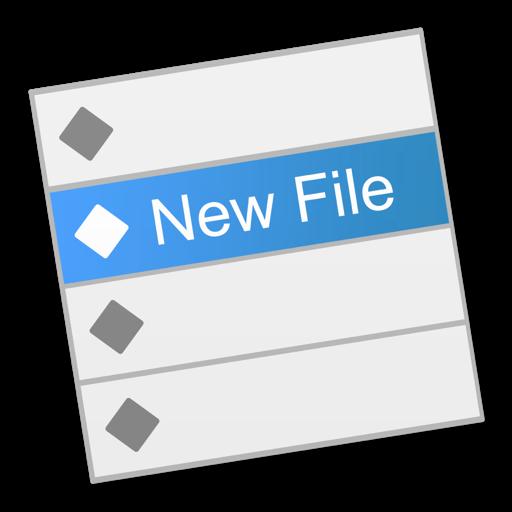 New File Menu Free
