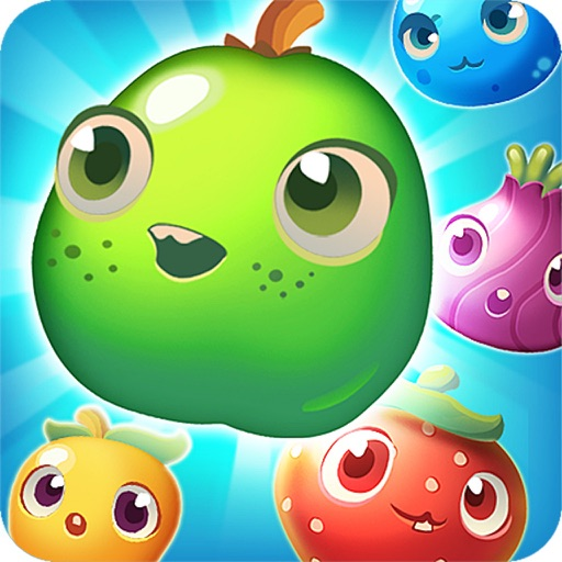 Fruit Smasher  -A wildly addictive match-two puzzle game! iOS App