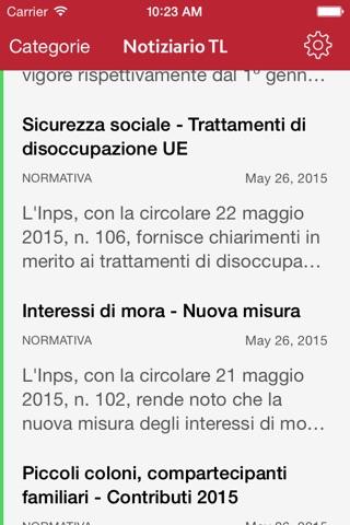 Notiziario TL screenshot 1