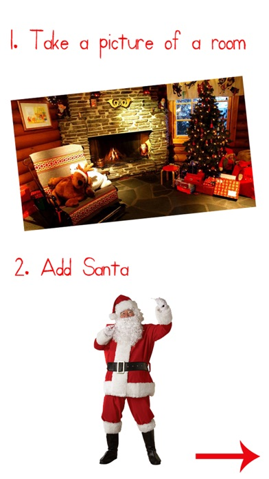 Santa Booth 2016 Catch Santa In Your House Pictures On The App Store