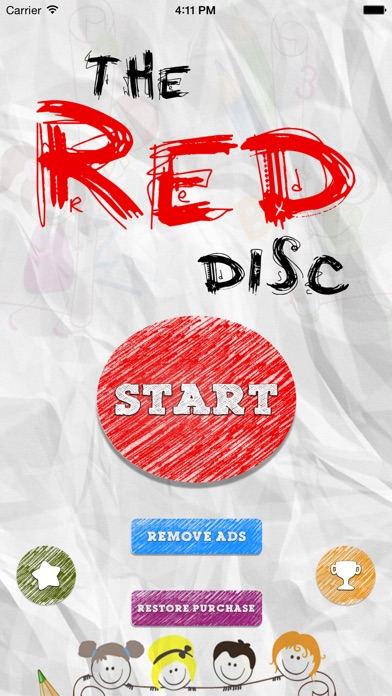 download The Red Disc - Don't tap on red disc apps 3