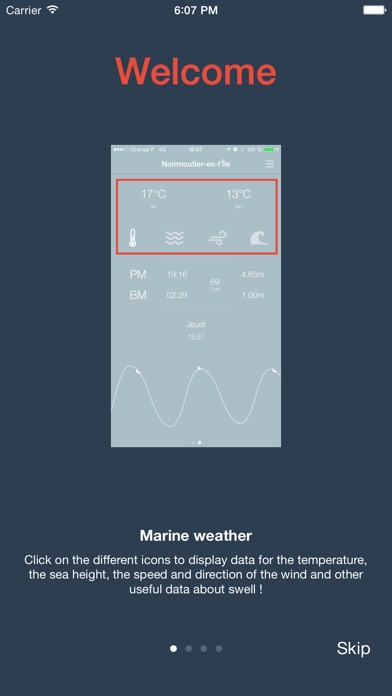 Crab - Marine weather, tide times and precise marine forecastsScreenshot of 4