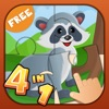 4 in 1 Fun Zoo Games Free - Learning & Educational Activities App for Kids & Toddlers