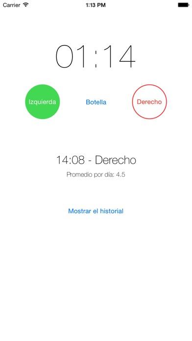 Captura de pantalla del iPhone 1