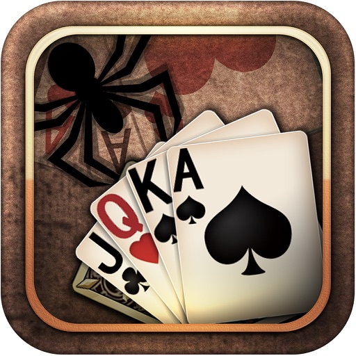 Spider Solitaire for iPhone iOS App
