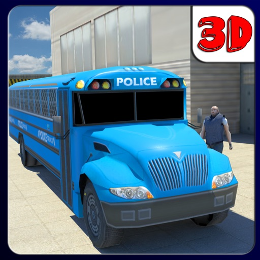 Police Truck Transporter 3D iOS App