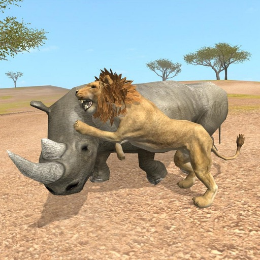 Rhino Survival Simulator iOS App