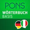 Wörterbuch Italienisch - Deutsch BASIS von PONS