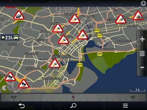 Screenshot #5 for Sygic Singapore & Malaysia: GPS Navigation