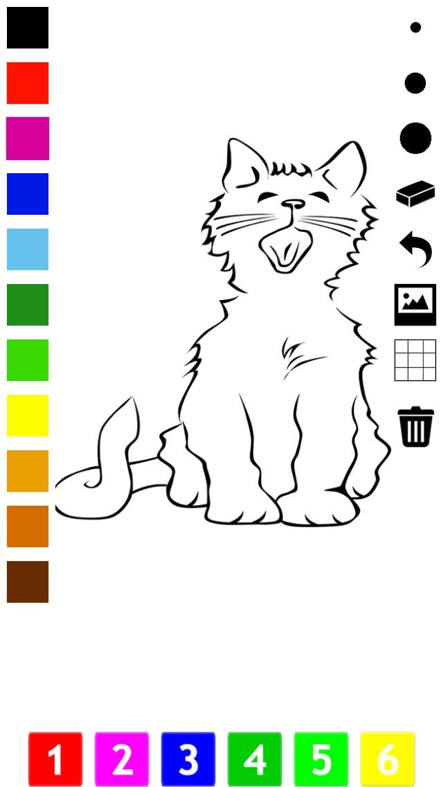 download Actif! Livre À Colorier des Chats Pour Les Enfants: Apprendre À Peindre le Chat apps 0