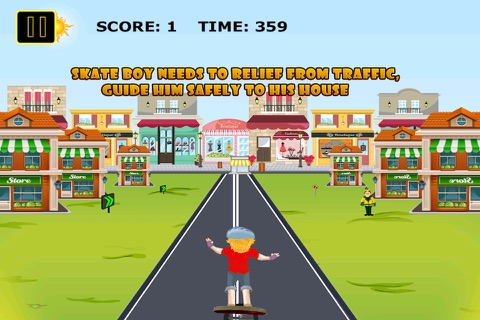 Skater Kid Dash Pro - Street Surfers Challenge screenshot 1