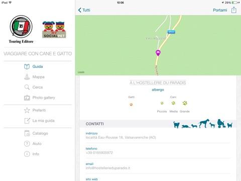 Viaggiare con Cane e Gatto Screenshot
