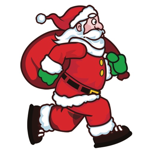 Santa Runner 2D iOS App