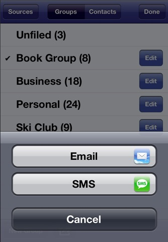 Speed Names - Contacts screenshot 4