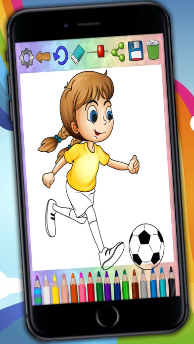 download Paint magic football – coloring players and teams - Premium apps 0