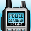 5-0 Radio Pro Police Scanner (Extra Feeds) Icon
