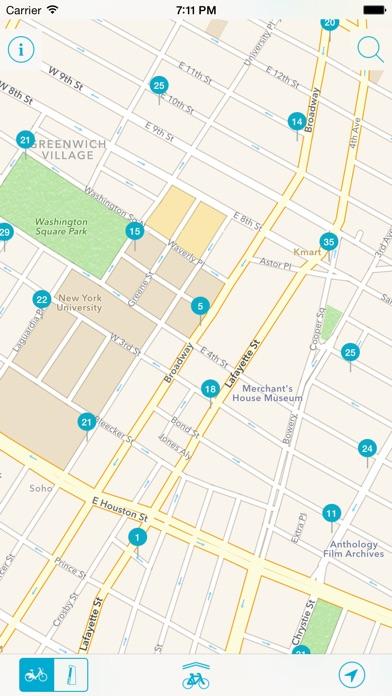 Bike Nyc New York Citi Bike Map On The App Store