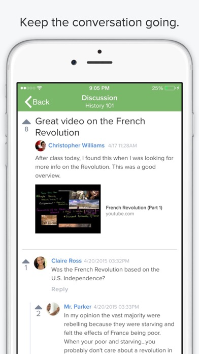 Collaborative Classroom App : Chalkup class collaboration platform on the app store