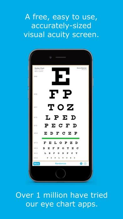 download Eye Chart HD - Examen de la Vista para los Oftalmólogos y Optometristas (Snellen, Visión de Cerca, y Más) apps 2