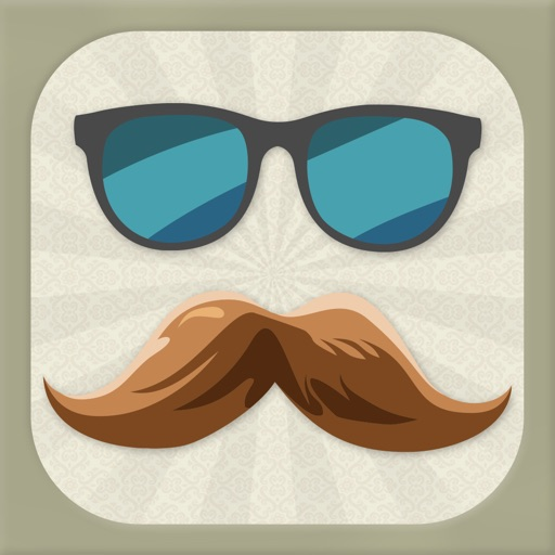 Mustache Me - Funny Face Decorating Game iOS App