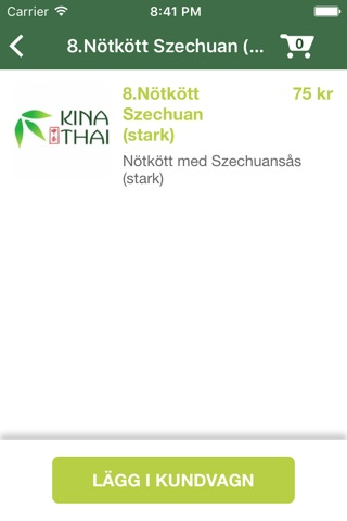 Kina Thai Restaurant screenshot 2