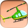 Helicopter Runaway Pro - cool jet plane flying game