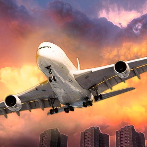 Aircraft Plane Simulator 3D - Fly-ing real jet airplane SIM racing