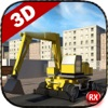道路建設シミュレータ - 3D重機ショベル&ロードローラー