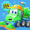 Mika 'Sweeper' Spin — street sweeper fun game for kids