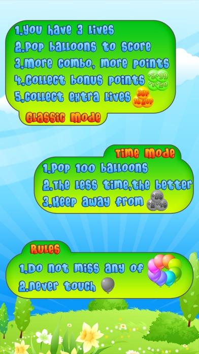 Balloon Mania - Pop Pop Pop Скриншоты6