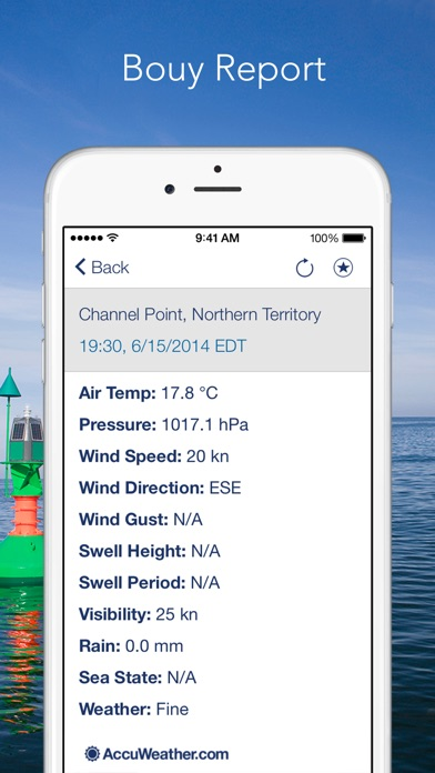 Marine Weather Plus By Accuweather review screenshots