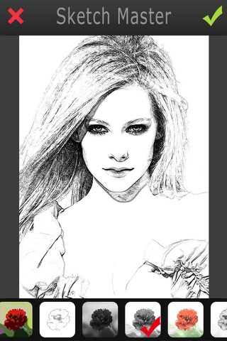 Sketch Master 2 - My Cartoon Brighten Yourself Portrait Photo screenshot 3