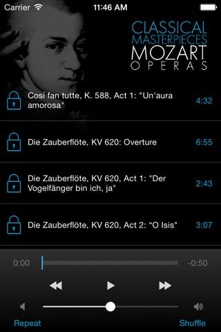 Mozart: Operas screenshot 2