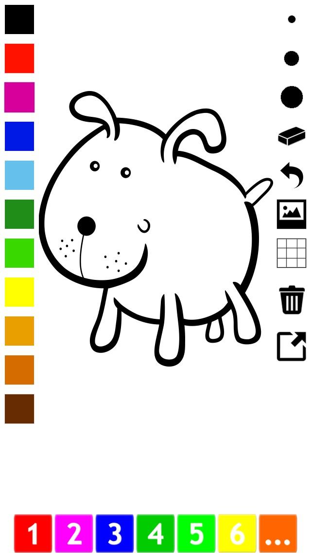 download Actif! Un Livre de Coloriage Pour Les Enfants Avec des Animaux apps 1