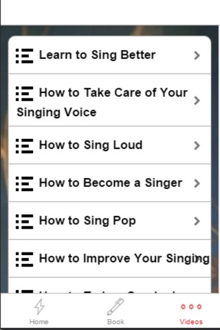 Singing Course - How to Improve Your Singing Voice screenshot 4