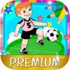 Paint magic football – coloring players and teams - Premium