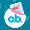 o.b.® Menstruations-Kalender App