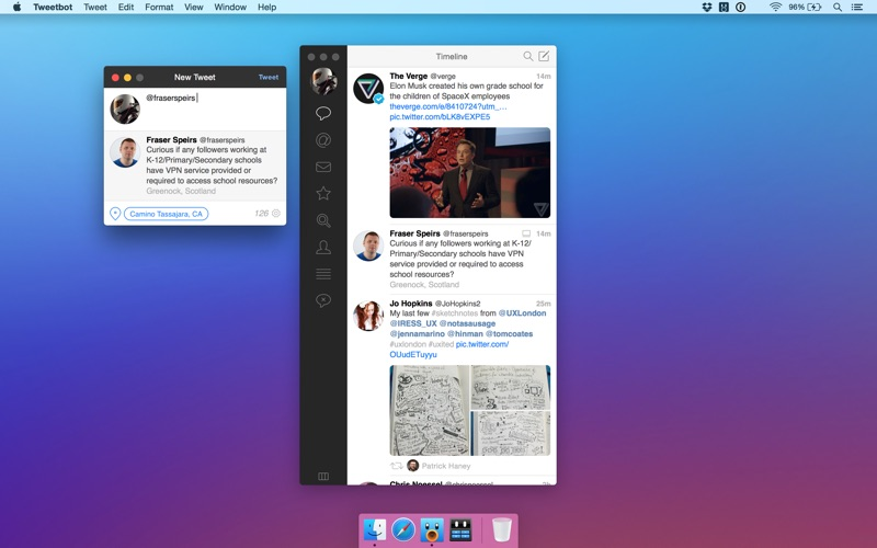 Tweetbot for Twitter Screenshots