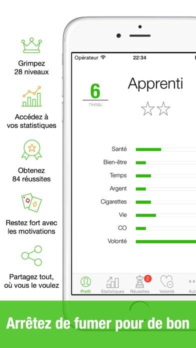 Screenshot Kwit 2 - arrêter de fumer