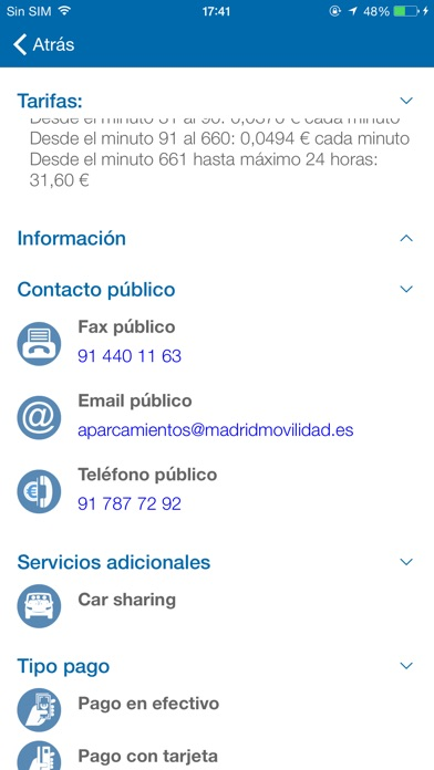 download Parking Madrid apps 2