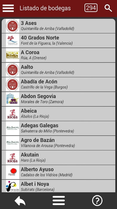 download Bodegas de España apps 0