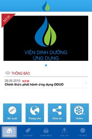 Dinh dưỡng Ứng dụng screenshot 2