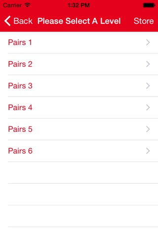 Pairs 1-6 screenshot 2