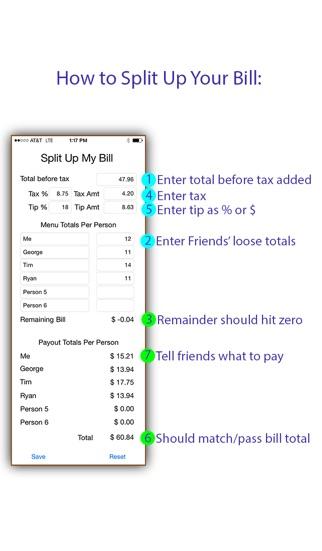 download Split Up My Bill apps 1