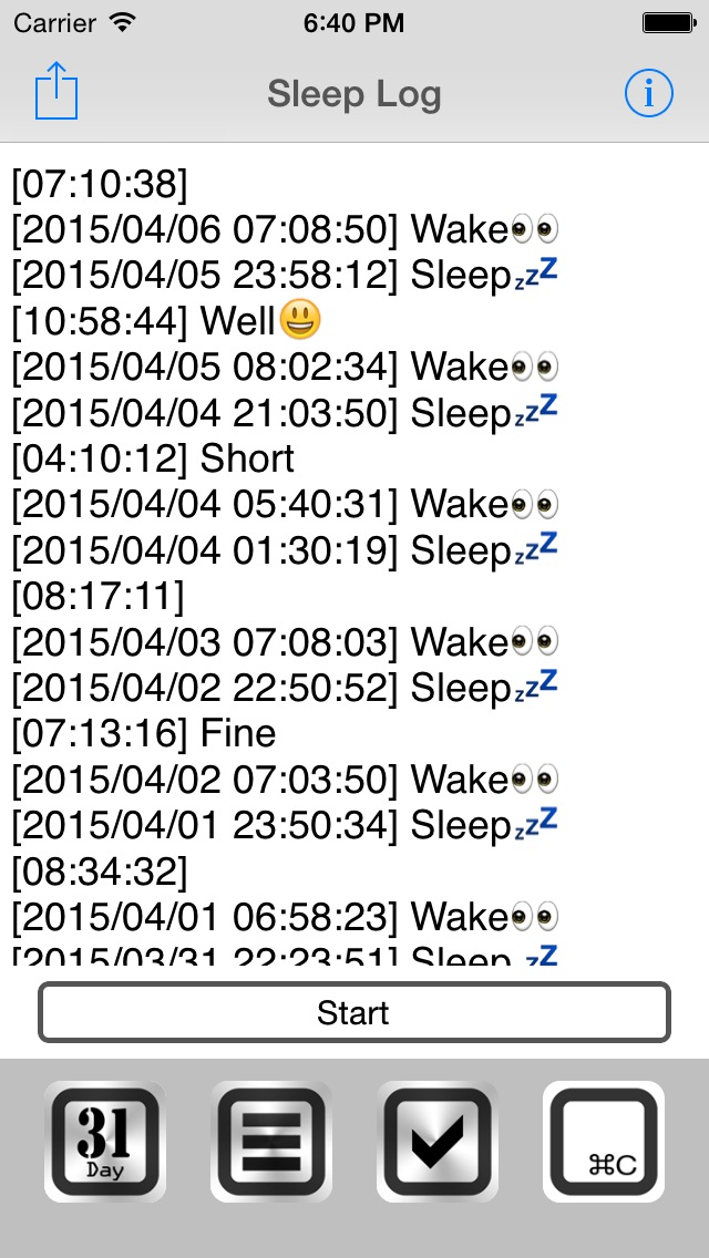 download Sleep Log+ apps 0