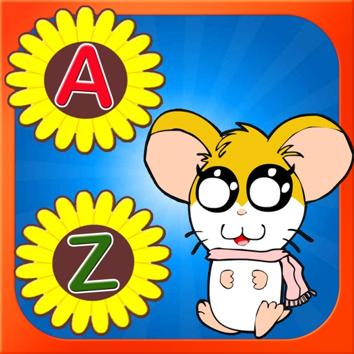 ABCs Small Letter Learing for Hamtaro Version iOS App