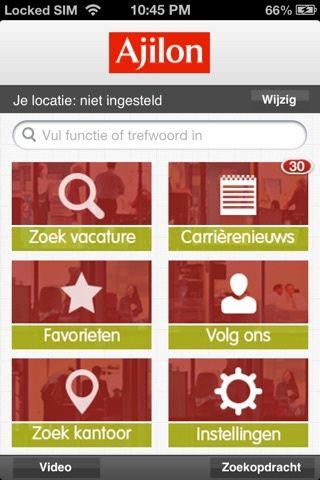 Ajilon Nederland screenshot 1