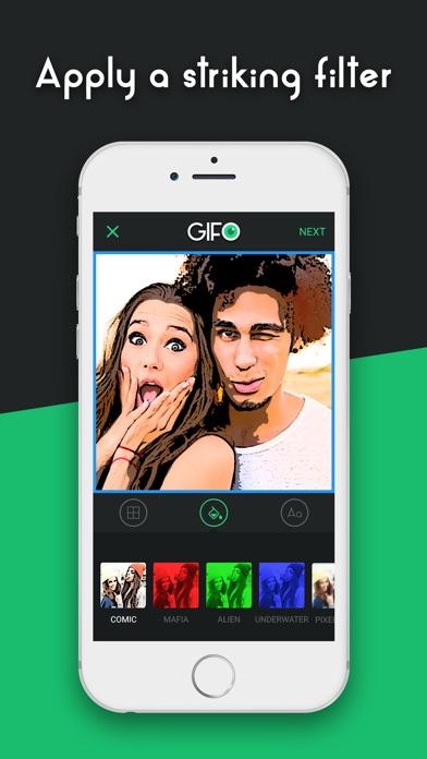 GIFO - Best Gif Camera Screenshot on iOS